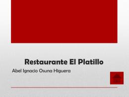 descargar - Restaurante El platillo