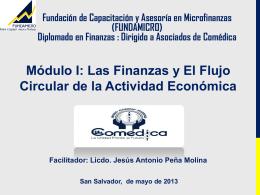 Módulo I: Las Finanzas y El Flujo Circular de la Actividad