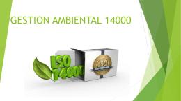 GESTION AMBIENTAL 1014