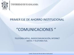Presentación Lineamientos Telefonía