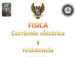 11° (ppt) Corriente eléctrica y resistencia