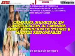 TALLER CAMPAÑA PADRES Y MADRES