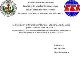 expo final 1 - historiadiplomaticadevenezuela