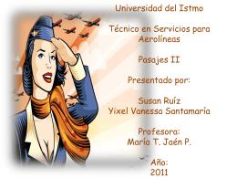 Universidad del Istmo Técnico en Servicios para Aerolíneas