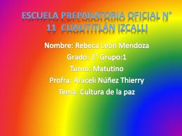 Escuela Preparatoria Oficial No 11 Cuautitlán Izcalli