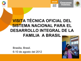 visita técnica oficial del sistema nacional para el