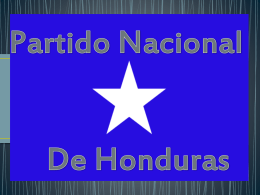 Partido Nacional - Historia