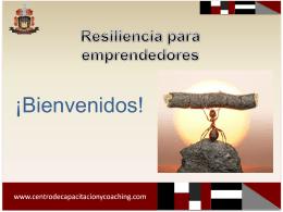 Resiliencia para emprendedores