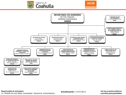 Archivo - Coahuila Transparente