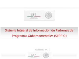 Sistema Integral de Información de Padrones de