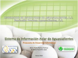 Sistema de Información Aviar de Aguascalientes Propuesta