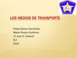 Los medios de transporte 111111