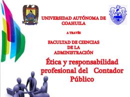 Ética y responsabilidad profesional del CP
