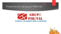Presentación del grupo PIROVAL