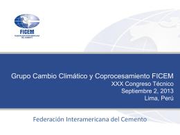 Patricio Díaz - Federación Interamericana del Cemento