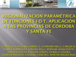 Grupo de Investigación Estudios hidrológicos en cuencas