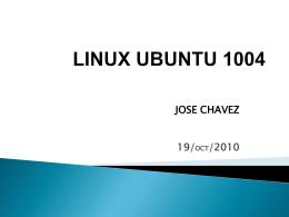 LINUX UBUNTU 1004 precentacion - linuxsonocturno