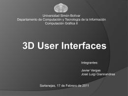 3dUIPart2 - LDC - Universidad Simón Bolívar