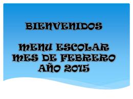Presentacion MENU 20..