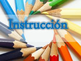 Instrucción