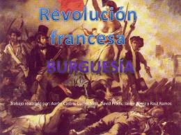 trabajo revolución francesa. Burguesía
