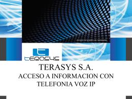 Acceso a la información con telefonía voz IP