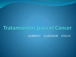 Tratamientos para el Cáncer - Intranet IES Fuente de San Luis