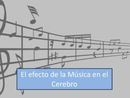 El efecto de la Música en el Cerebro Presentacion