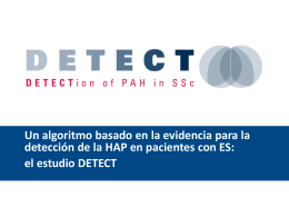 Kit de diapositivas del DETECT