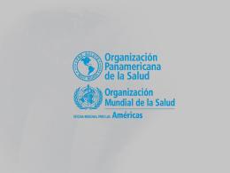 Salud Publica Veterinária en la OPS/OMS Marco Antonio Natal