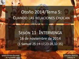 intervenga_111614 - Iglesia Bíblica Bautista de Aguadilla