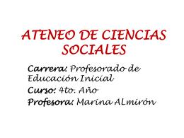 Ateneo de Ciencia Sociales