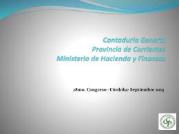 28mo. Congreso · Cordoba· Septiembre 2013