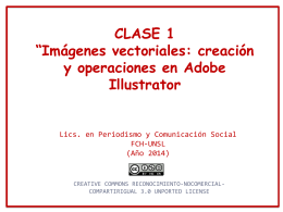 Clase 1- Illustrator