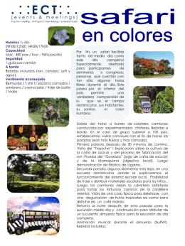 Safari en colores