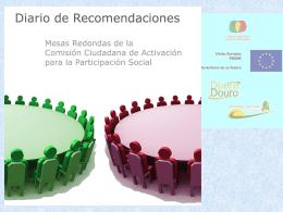Descargar presentación Diario de Recomendaciones