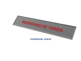 INVENTARIO DE TIENDA