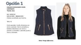 CHALECO ACOLCHADO VIVOS CONTRASTE Tienda: Zara