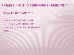 I.E.SAN VICENTE DE PAUL SEDE EL DIAMANTE*