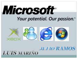 Microsoft - Blog de ESPOL