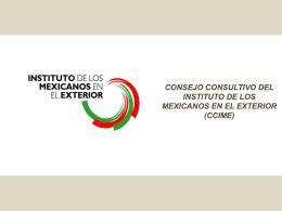 Propuesta del IME para reformar el CCIME