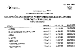 informe de rendicion de cuenta 2014