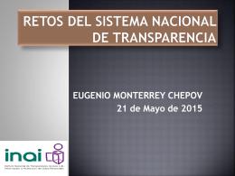Lic. Eugenio Monterrey Chepov - Instituto Duranguense de Acceso