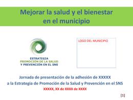 presentación pública de la implementación local