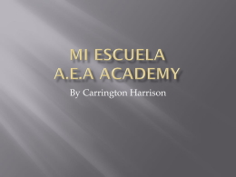 Mi escuela A.E.A Academy