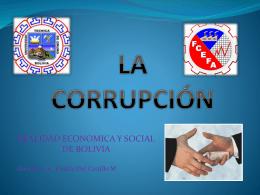 CORRUP.1 - Docentes FCEFA