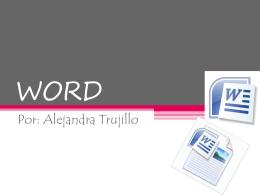 WORD - tipstecnologicos6togrado