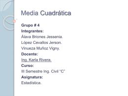 Media Cuadrática