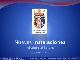- Centro Inglés
