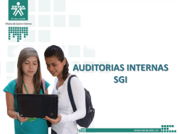 auditorias sgi - comunicaciones.sena.edu.co